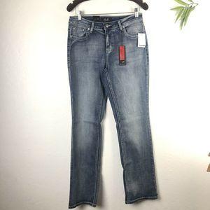 Earl Embellished Jeans Size 10 Blue